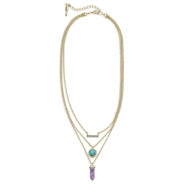 Medina Convertible Pendant Necklace $42