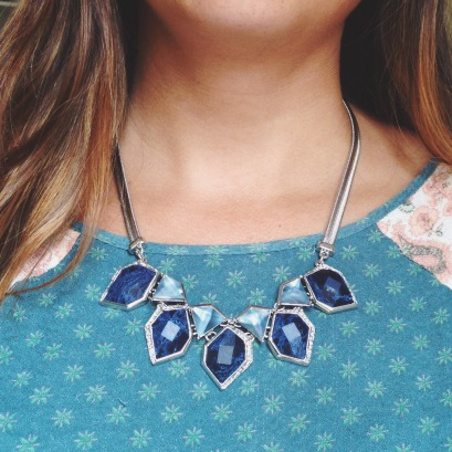Alpenglow Collar Necklace $78
