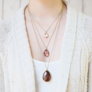 Minaret Three-Row Convertible Necklace $65