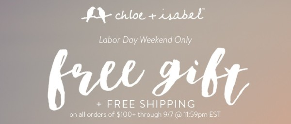 Free Gift with Purchase - Ends 9.7